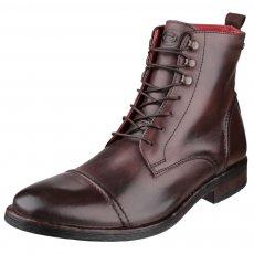 Base London Clapham Burnish Cocoa Boots