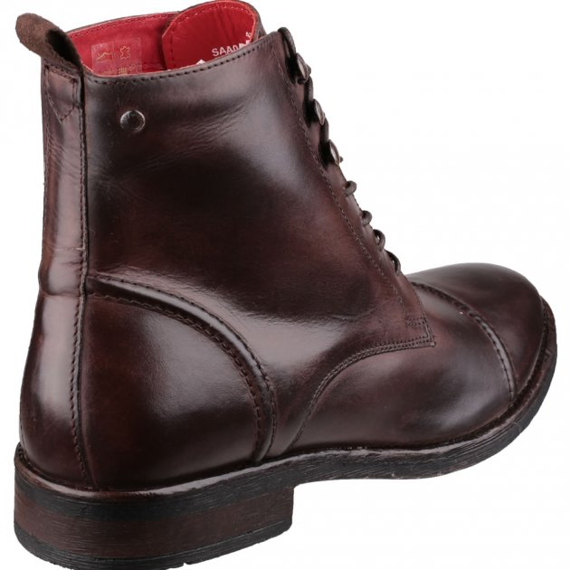Clapham Burnish Cocoa Boots