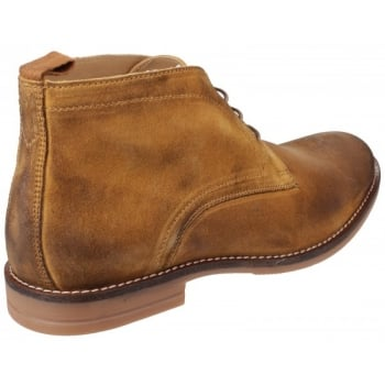 Base London Dore Dirty Suede Mustard Boots