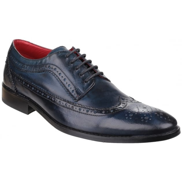 Base London Durham Washed Navy Shoes