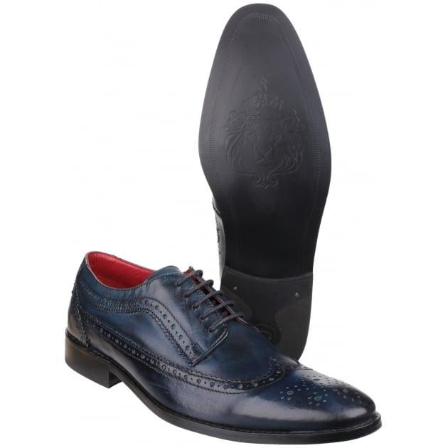 Base London Durham Washed Navy Shoes