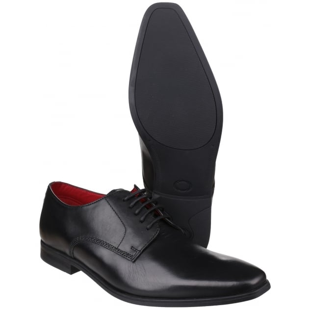 George Waxy Black Shoes