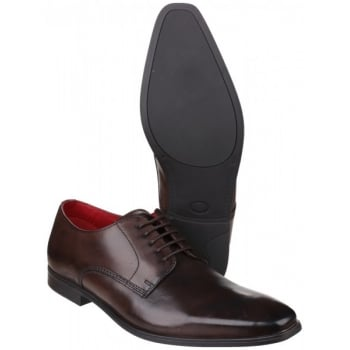 Base London George Waxy Cocoa Shoes