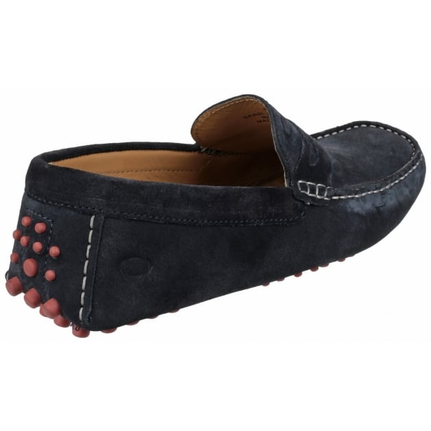 Base London Morgan Suede Navy Shoes