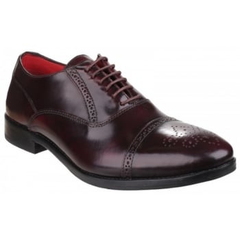 Base London Noel Hi-Shine Bordo Shoes