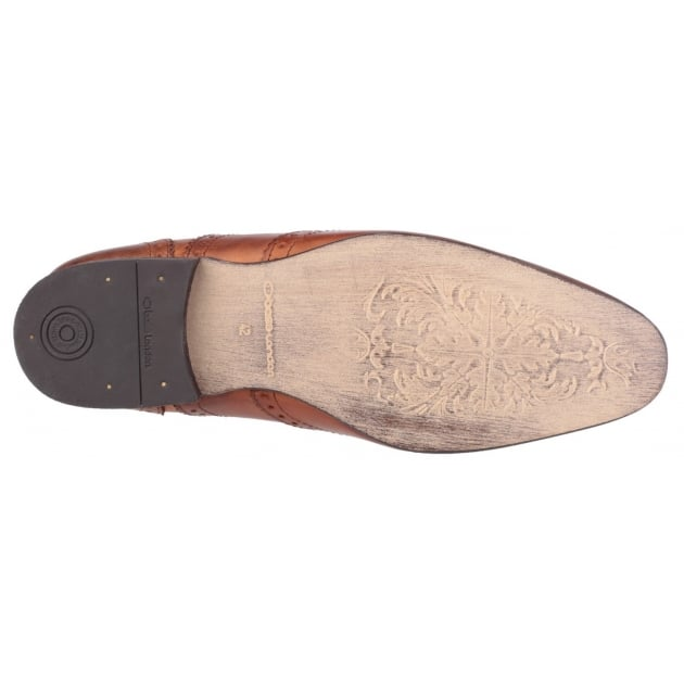 Base London Nutmeg Grain Tan Shoes