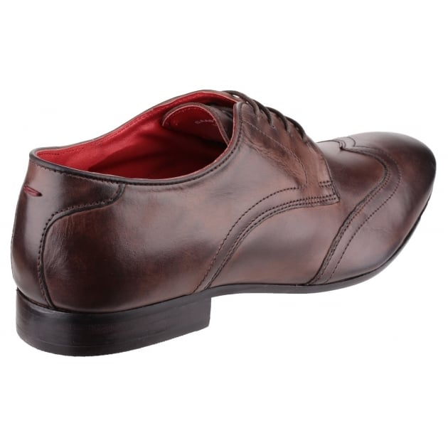 Base London Orwell Burnished Cocoa Shoes