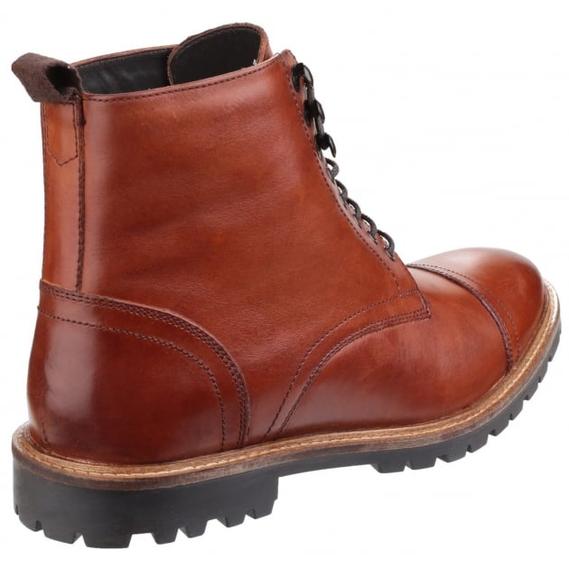 Siege Lace Up Boot Tan