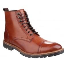 Base London Siege Lace Up Boot Tan Shoes