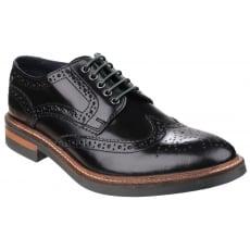 Base London Woburn Black Shoes