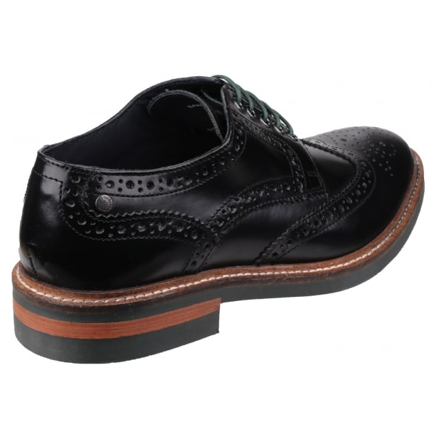 Base London Woburn Black Shoes