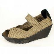 Bernie Mev Halle Bronze Sandals