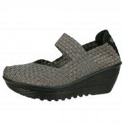 Bernie Mev Lulia Gunmetal Shoes