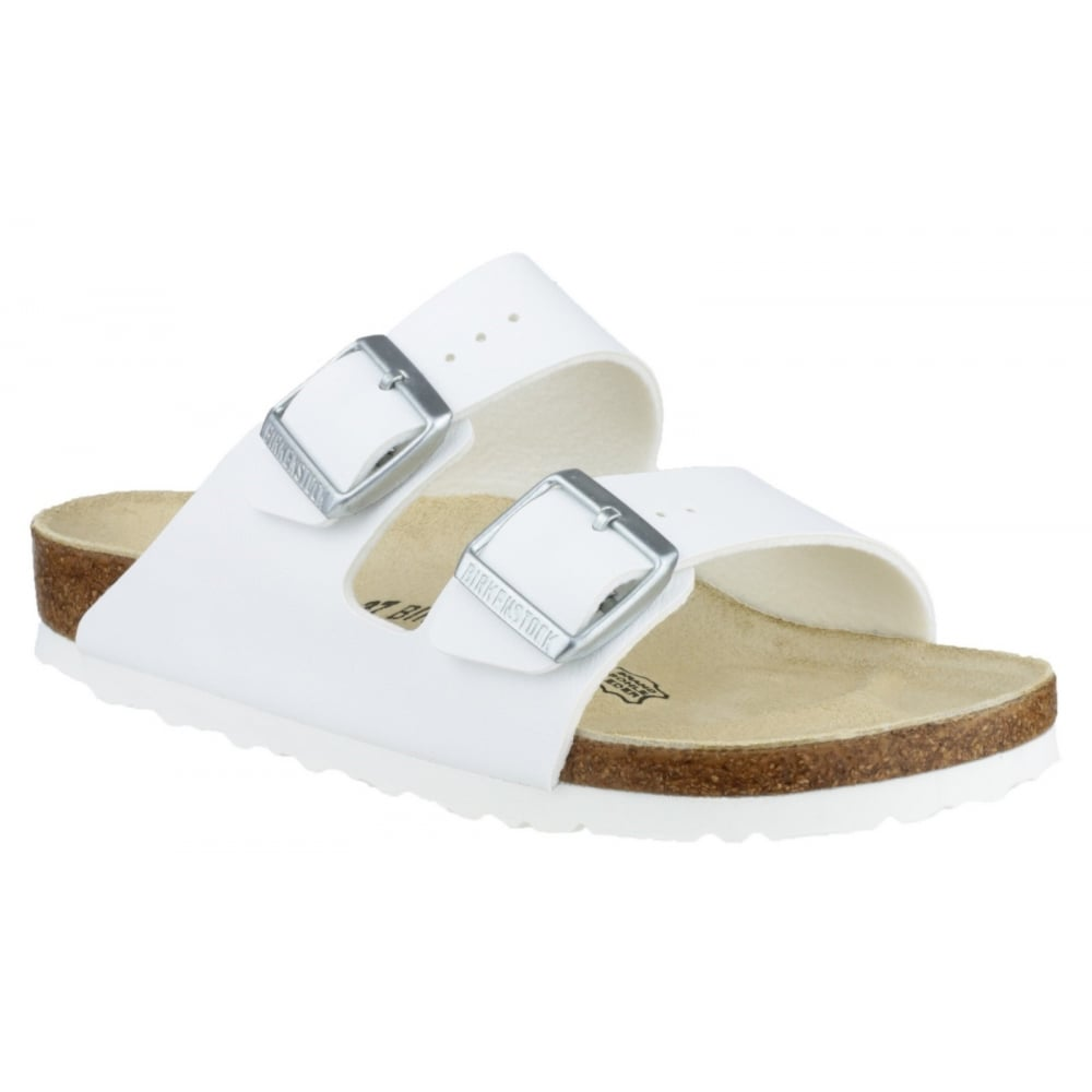 Innovative Birkenstock Madrid Slipon In White Cortina White  Lyst