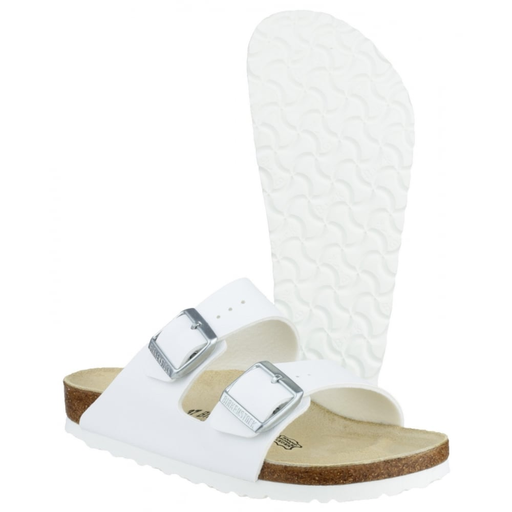 Fantastic WHITE WOMENS FOOTWEAR BIRKENSTOCK FASHION SANDALS  051731WWHI