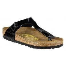 Birkenstock Gizeh Patent Sandal Black