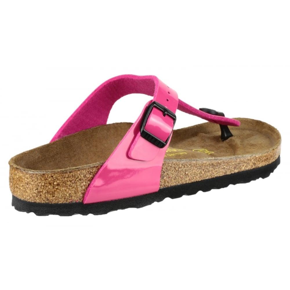 Birkenstock Gizeh Patent Sandal Women S Pink Sandals