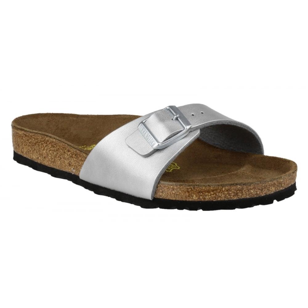 birkenstock madrid sandal women 39 s silver sandals free. Black Bedroom Furniture Sets. Home Design Ideas