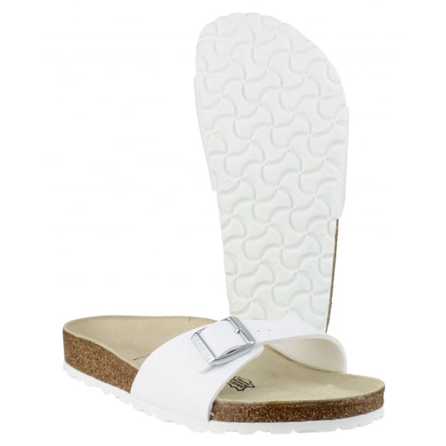 Madrid Sandal White