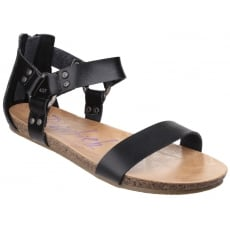 Blowfish Grabe Black Sandals