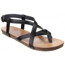 Blowfish Granola Black Sandals