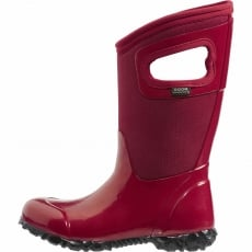 Bogs North Hampton Solid Red Wellies