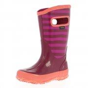 Bogs Rain Boot Stripe 71547 Berry Wellies