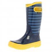 Bogs Rain Boot Stripe 71547 Navy Wellies