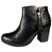 Bronx 33445-F Black Boots