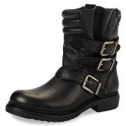 Bronx 43866-B Black/Gold Boots