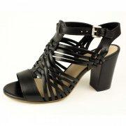 Bronx Celie Strap 84242-F01 Black Sandals