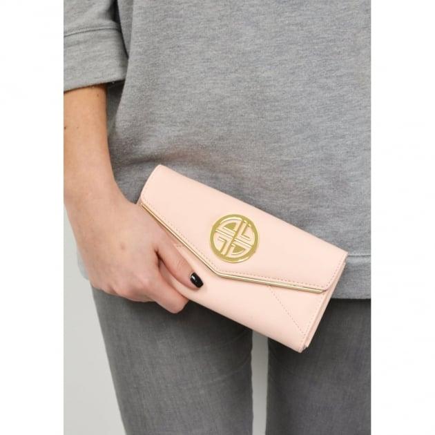 Carlton London Acanthus Clb0028 Pink Purse Pink Bags