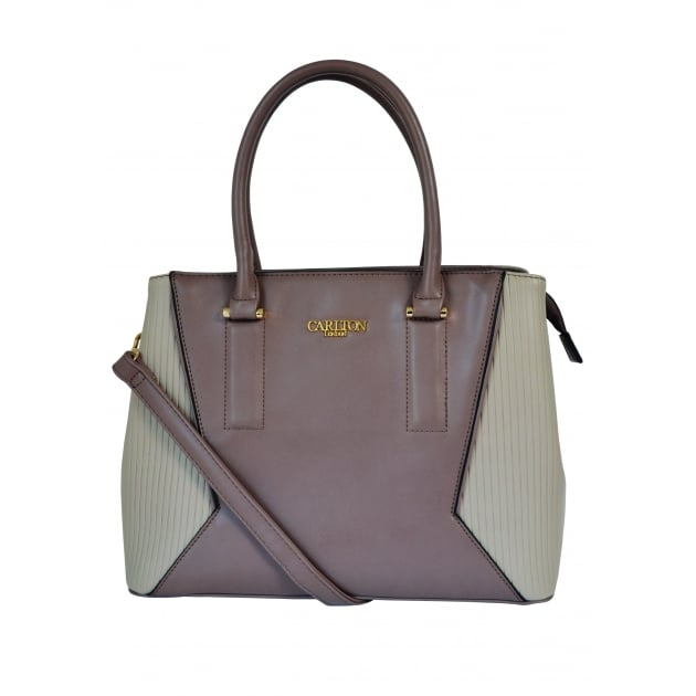 Carlton London Ageratum CLB0018 Taupe Bags