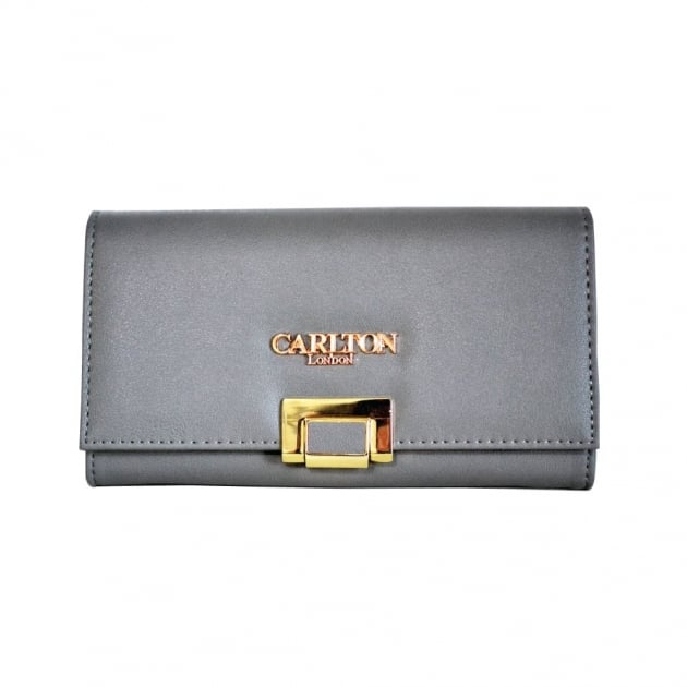Carlton London Aloes Clb0029 Grey Purse