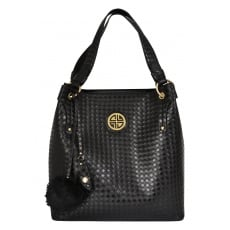 Carlton London Alyssum CLB0020 Black Bag