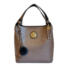 Carlton London Alyssum CLB0020 Brown Bag