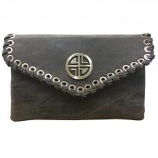 Carlton London Amaranth Clb0031 Black Clutch Black Bags
