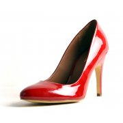 Carlton London Aria Cl-5761A Red Patent Shoes