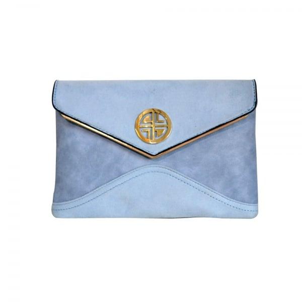 Ash Clb0032 Blue Clutch Blue Bags