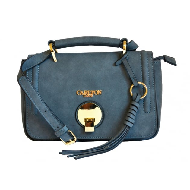 Carlton London Aspen CLB0024 Blue Bag