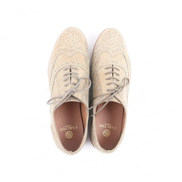 Cad Gold Brogue Shoes