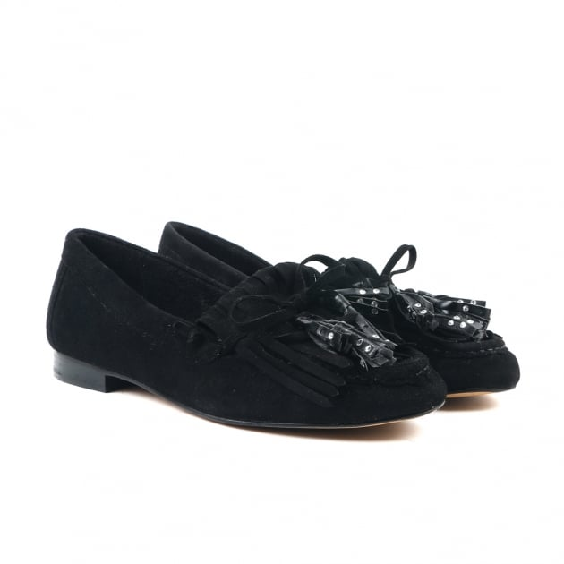 Cadi Black Loafers
