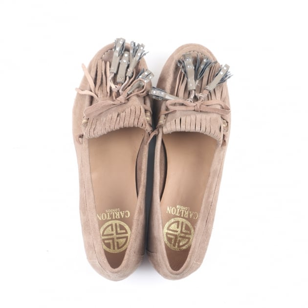 Carlton London Cadi Taupe Loafers