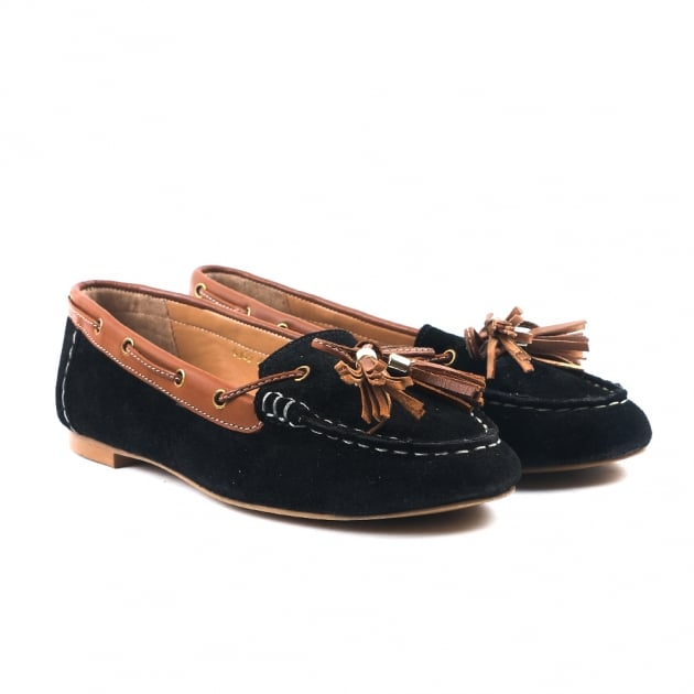 Caitlin Black Loafers