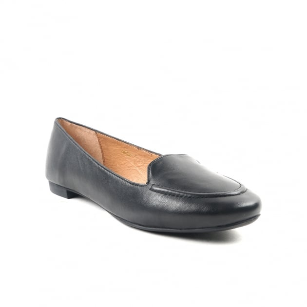 Callisto Black Loafers