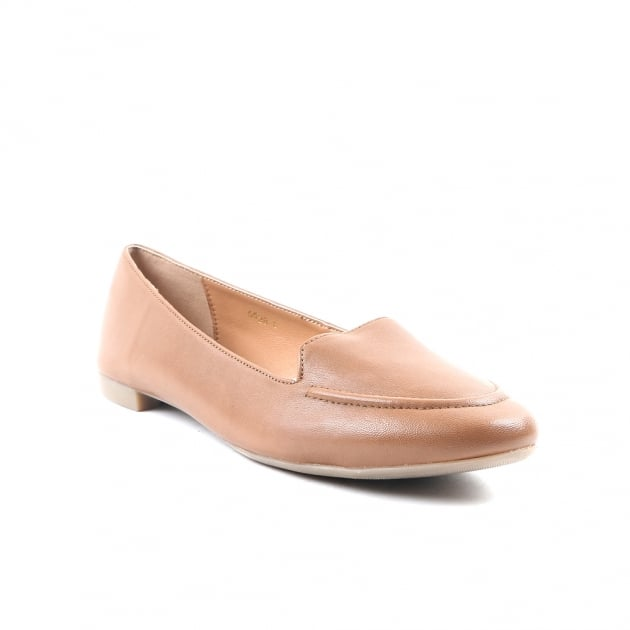Carlton London Callisto Tan Loafers