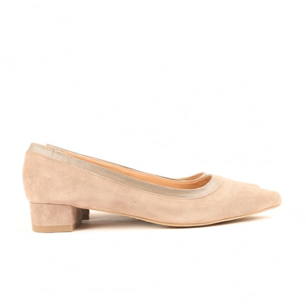 Carlton London Cara Taupe Court Shoes
