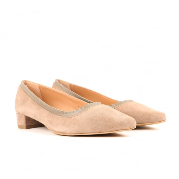 Cara Taupe Court Shoes