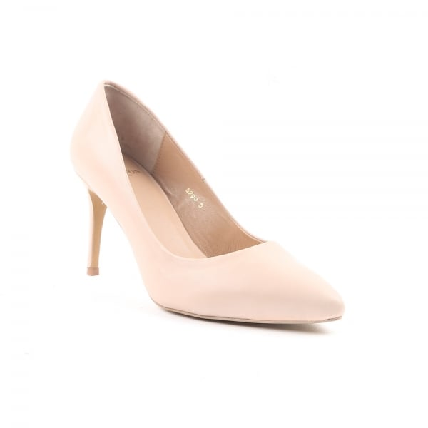 Caramel Nude Court Shoes