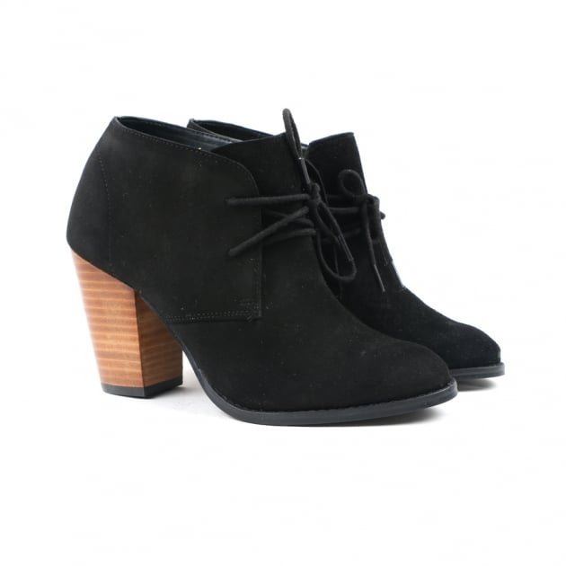 Carolyn Black Ankle Boots
